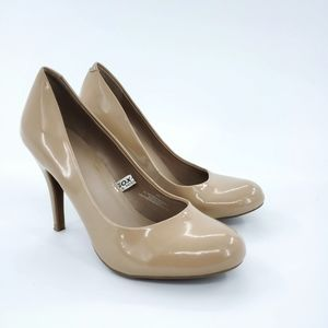 Mossimo | Nude Patent Leather Pumps 5.5